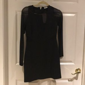 Brand new black sheer cut out dress from tobi!